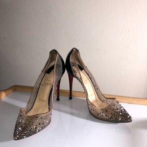 Christian Louboutin Lace High Heels